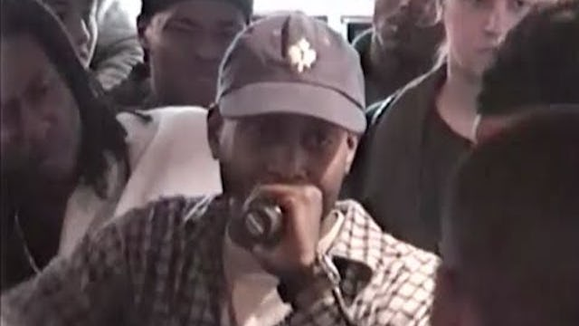 Talib Kweli Rocks A Rawkus Records In-Store At Fat Beats