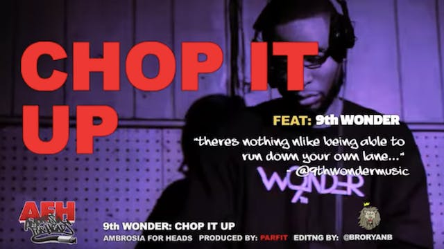 9th Wonder Discusses The Benefits Of ...