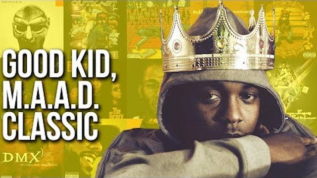 Kendrick Lamar: good kid, m.A.A.d. cl...