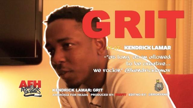 Kendrick Lamar: GRIT