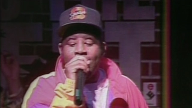 Brand Nubian Perform Drop The Bomb In 1991 At NYC's Club Kilimanjaro