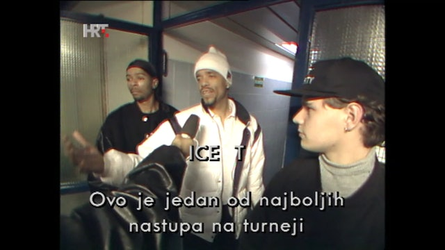 Public Enemy & Ice-T Perform In Croatia In 1994
