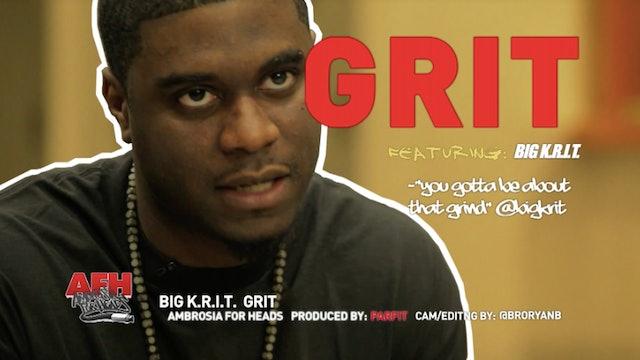 Big K.R.I.T: GRIT