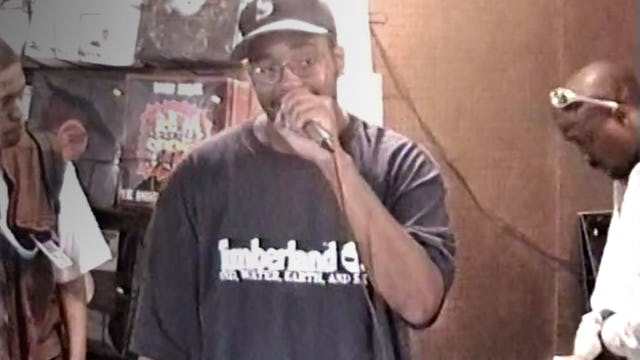 J-Live, Shabaam Sahdeeq & Freestyle Of The Arsonists Cypher At Fat Beats