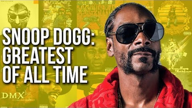 Is Snoop Dogg The Greatest MC Of All-Time?