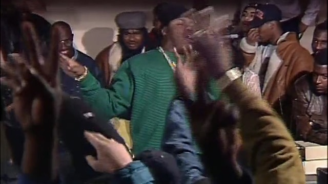 Biz Markie Freestyles In 1991 With Kool G Rap Looking On