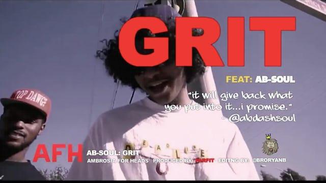Ab-Soul: GRIT