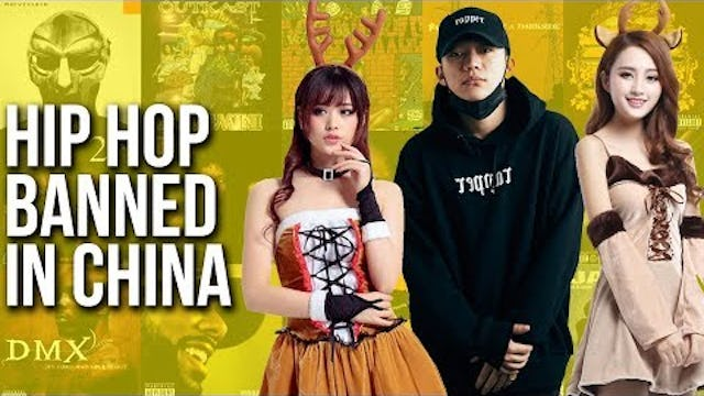 Banned In China...The War On Hip-Hop Continues
