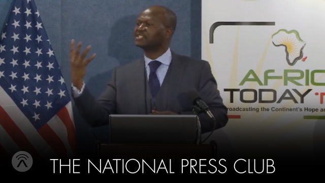Founder Yaya Moussa's Presentation at National Press Club