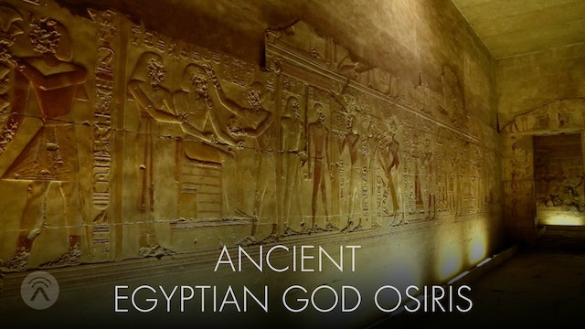 Ancient Egyptian god Orisis