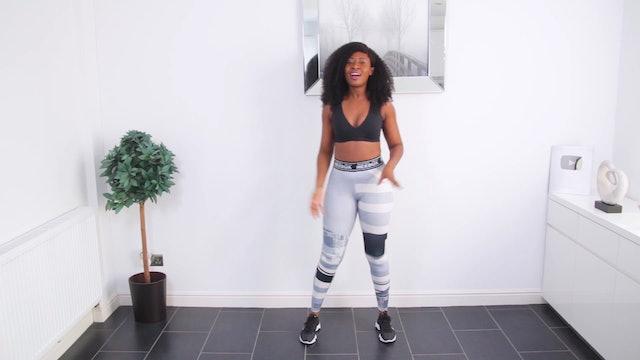25 Min Feel Good African Dance Cardio