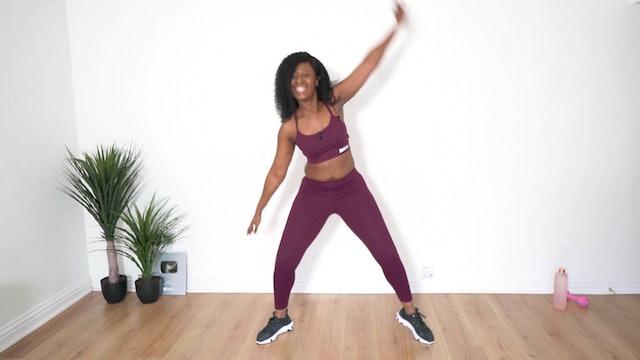 45 Min Total Body Dance Toning Workout