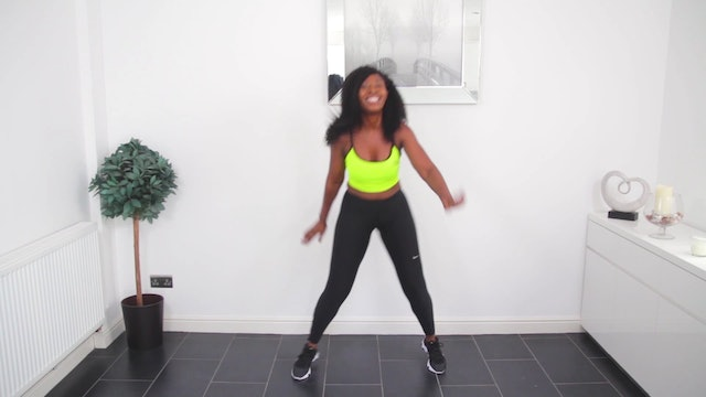 No Equipment Afro Dance Workout