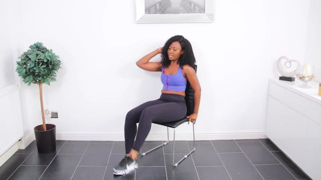Seated Flat Tummy Workout For Toned Abs