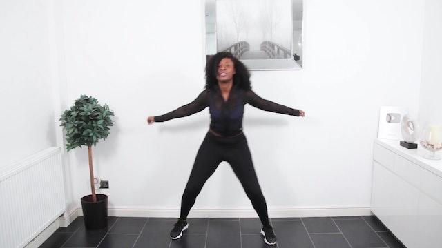 30 Min Calorie Burning Afro Dance Cardio