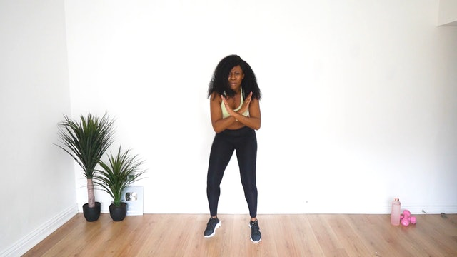 27 Min Afro Dance HIIT Workout For Weight Loss