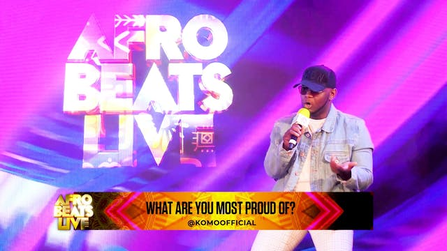 KOMO Highlights at Afrobeats Live