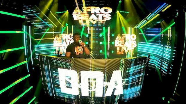 DJ DNA Live Set at Afrobeats Live