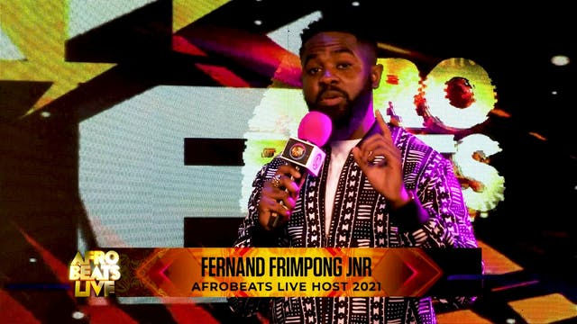 AFROSWAGG LIVE ON AFROBEATS LIVE