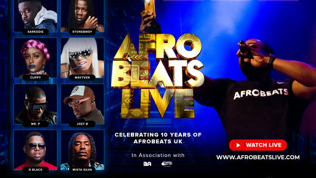 AFROSWAGG ON AFROBEATS LIVE