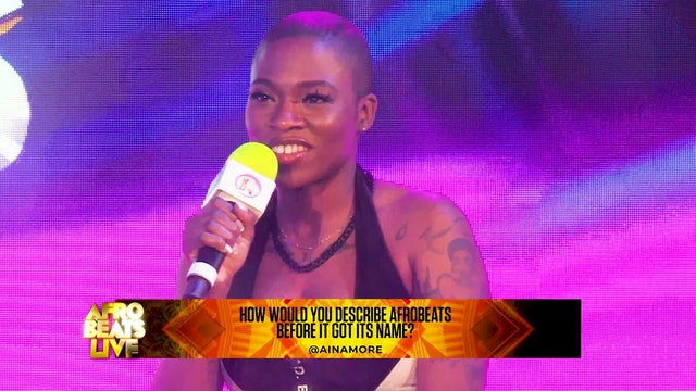 Aina More Trailer at Afrobeats Live