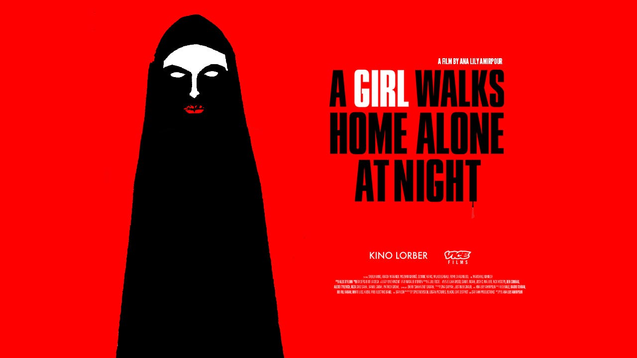 A Girl Walks Home Alone at Night (rental)