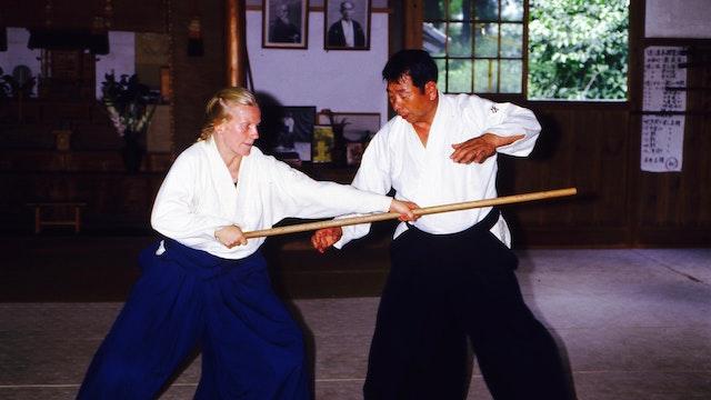 Morihiro Saito : Jo-dori and Jo-nage