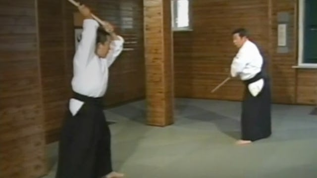 Morihiro Saito: Aiki-jo Part 2