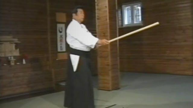 Morihiro Saito: Aiki-jo Part 1