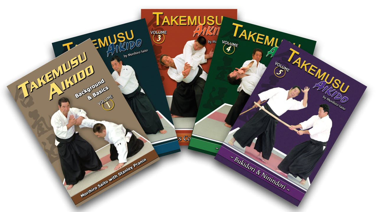 Takemusu Aiki: eBooks: Vol 1-5