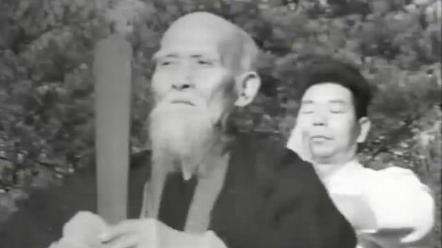 Morihei Ueshiba: Iwama with Saito in 1964