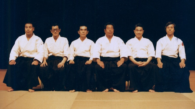 The First Aikido Friendship Demonstration