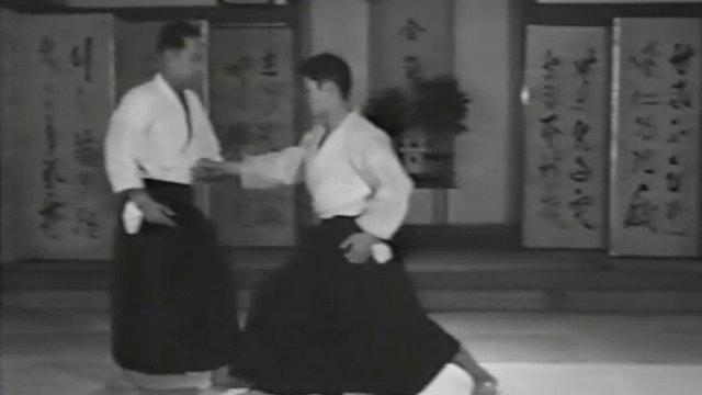 Kisshomaru Ueshiba Demo: 1964