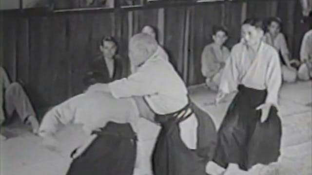 Morihei Ueshiba: 1954 and 1962 Demons...