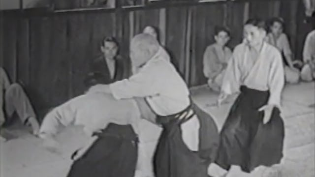 Morihei Ueshiba: 1954 and 1962 Demonstrations