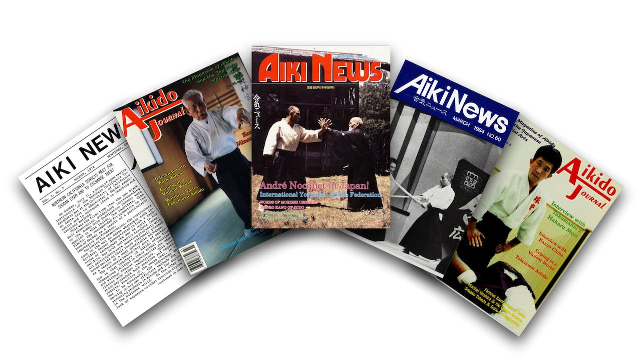 Aikido Journal Back Issue Package