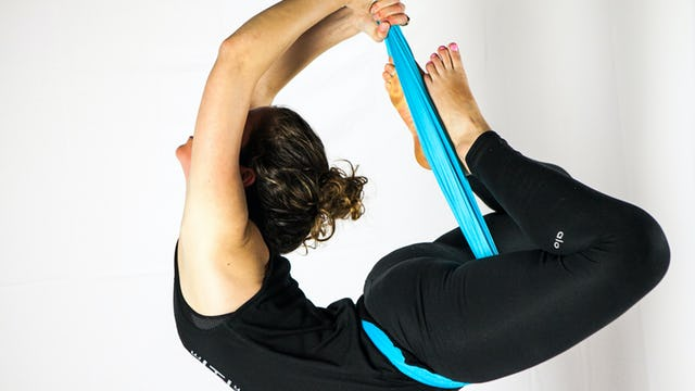 Instructional Flows And Salutations Flight Aerial Yoga