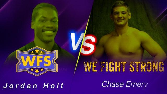 Jordan Holt v Chase Emery