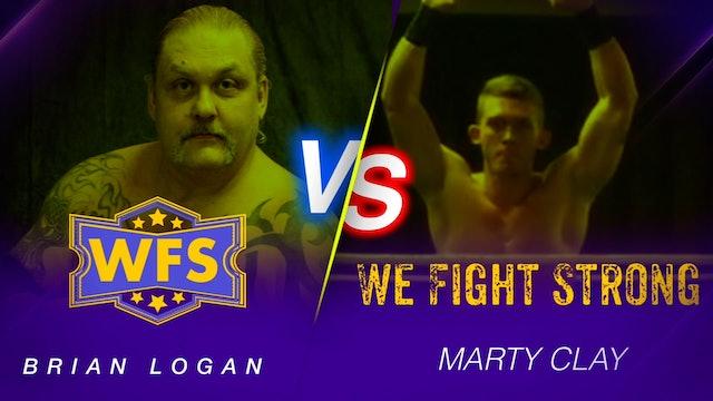 Brian Logan vs. Marty Clay