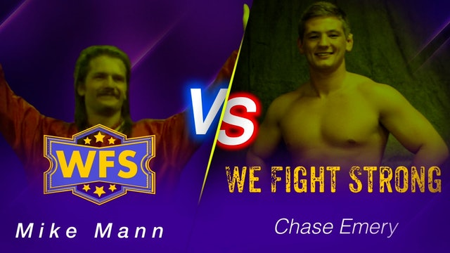 Mike Mann vs. Chase Emery