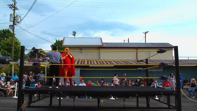 Gray, Tn Block Party Featuring Southern States Wrestling