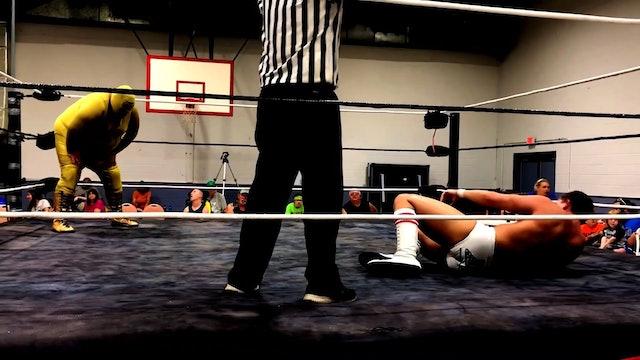 3-Golden Terror vs. David Anthony Lethal Limits