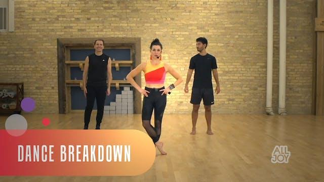 Joy Jam Dance Breakdown 1: 10 mins