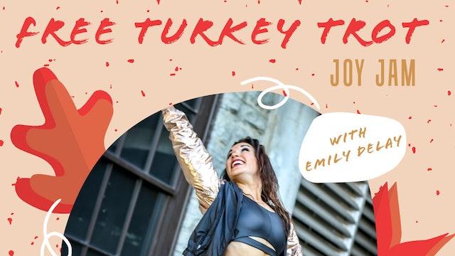 RECORDED Live Turkey Trot Joy Jam! 11-25-20