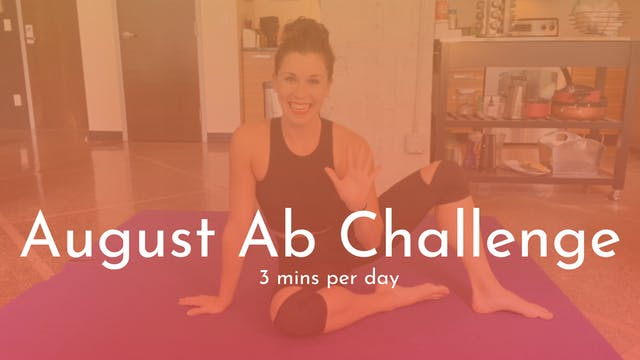 Alljoy August Ab Challenge! (3 mins)