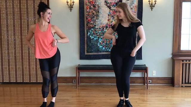 Intro to Ballroom w/ Caitlin Camarda (53 min)