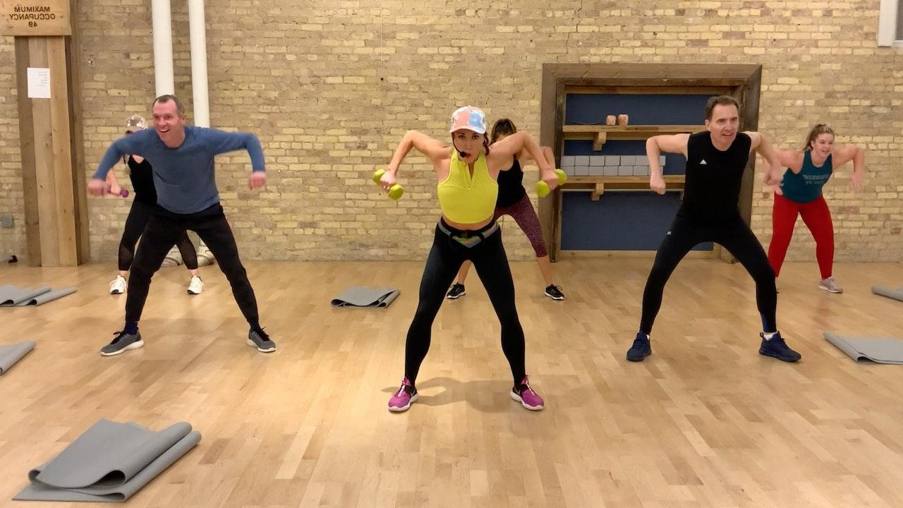 Joy HIIT (high intensity interval training)