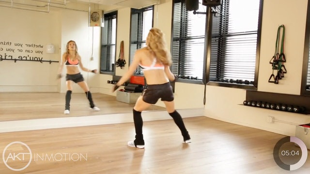 """Passe Jump"" Cardio Workout"