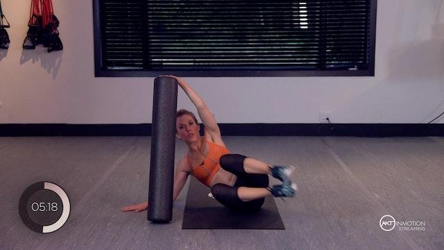 Foam Roller Core Workout