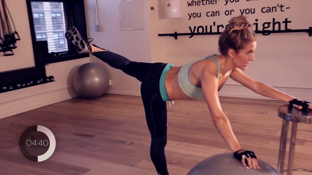 Physio Ball Lower Body Workout
